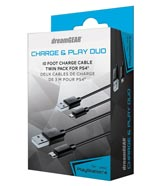 PlayStation 4 Charge & Play Duo Pack dreamGEAR