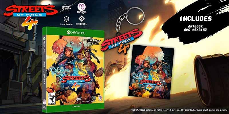 Xbox One Streets of Rage 4 bonus items