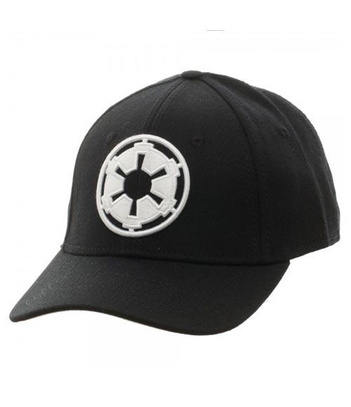Star Wars Imperial Logo Black Flex Hat