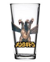 Godzilla King Ghidorah Toon Tumblers Pint Glass