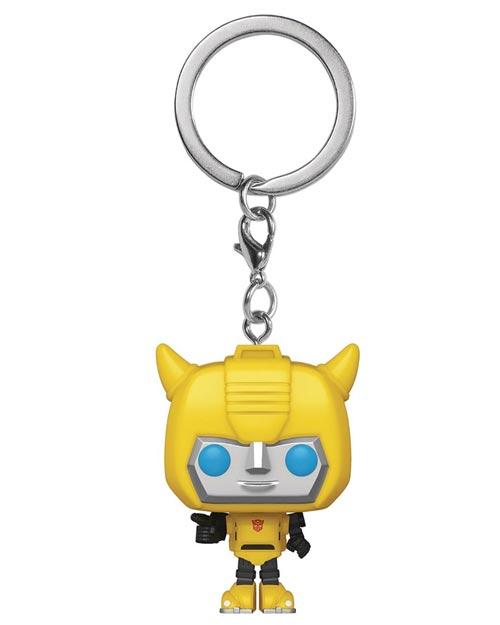 Pocket Pop Transformers Bumblebee Keychain