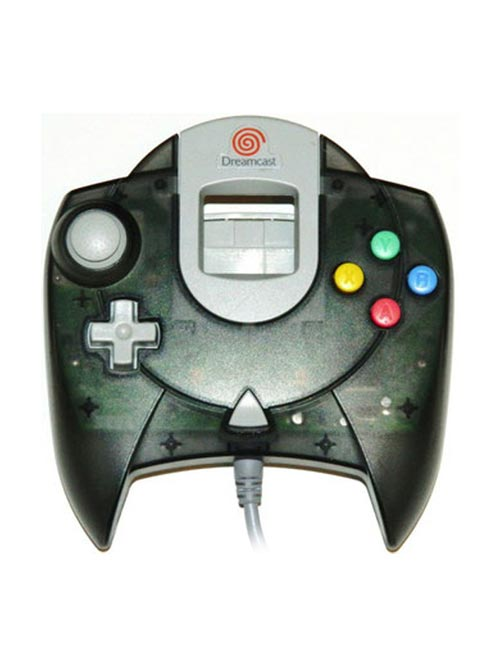 Dreamcast Controller Clear Black by Sega