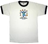 Mega Man I Beat The 8 Master Robots Ringer T-Shirt XL