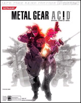 Metal Gear Acid Official Strategy Guide