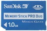 PSP 1GB Memory Stick Pro Duo