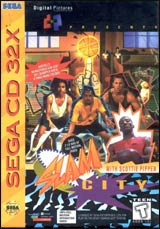 Slam City with Scottie Pippen / 32X CD