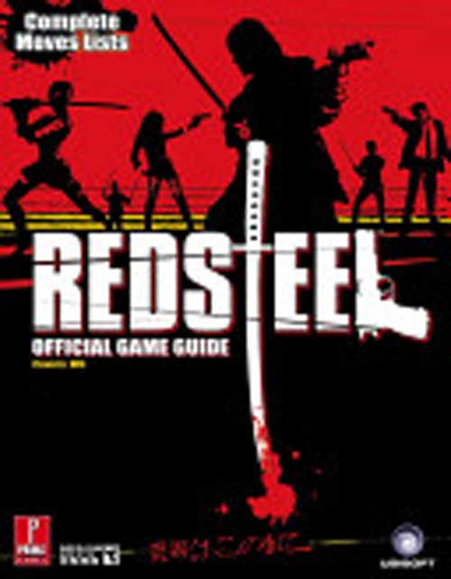 Red Steel Official Strategy Guide Book