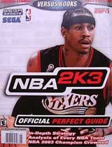 NBA 2K3 Official Strategy Guide Book