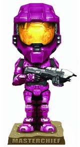 Halo 3 Crimson Spartan Bobblehead