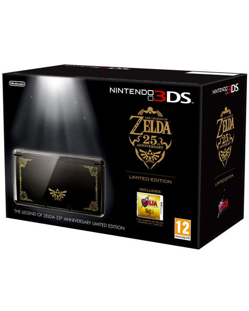 Nintendo 3DS System Zelda Edition Bundle