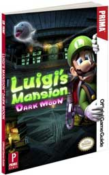 Luigi's Mansion: Dark Moon Official Strategy Guide