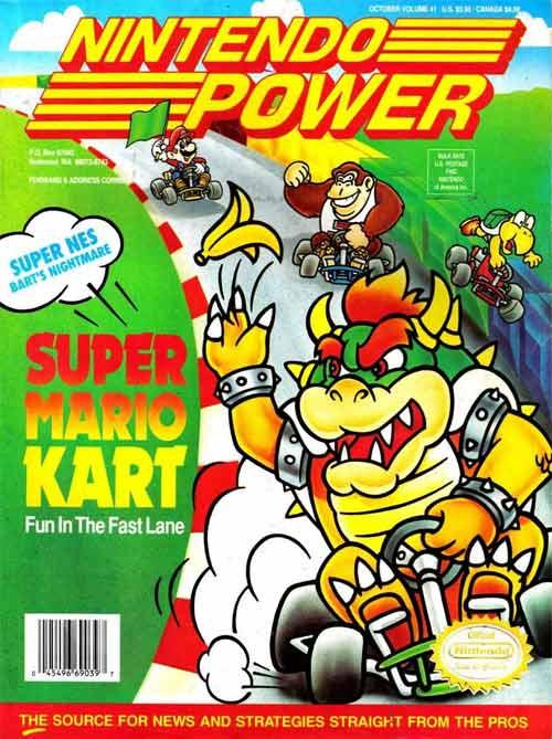 Nintendo Power Volume 41: Super Mario Kart
