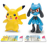 Pokemon Pikachu Vs. Riolu PVC Battling Figures