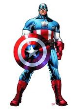Avengers Assemble Captain America Life-Size 74