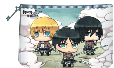 Attack on Titan Chibi Chara Bag