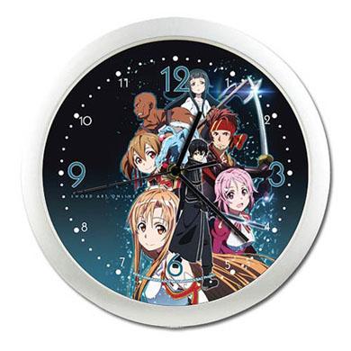 Sword Art Online Wall Clock (Group)