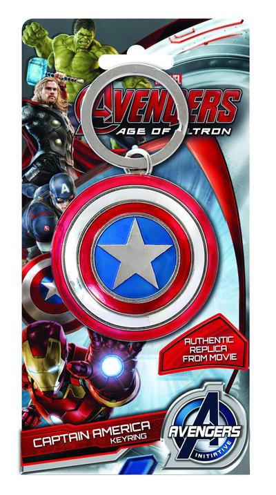 Avengers Keyring Captain America Shield