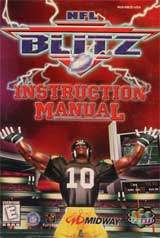 NFL Blitz (Instruction Manual)