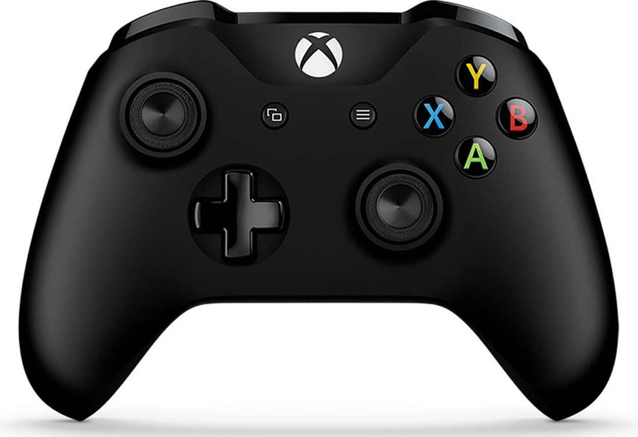 Xbox One Wireless Controller with Headphone Jack Black