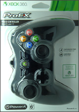 Xbox 360 Pro EX Wired Controller Black