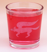 Arts & Crafts: Star Fox Logo Custom-made 13oz Glass