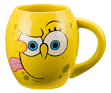 Spongebob 18oz Ceramic Oval Mug