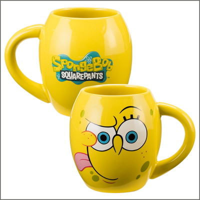 Spongebob 18oz Ceramic Oval Mug