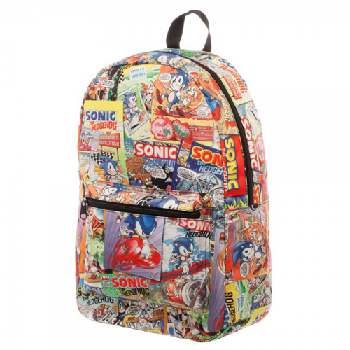 SEGA Sonic Comic Sublimated Backpack