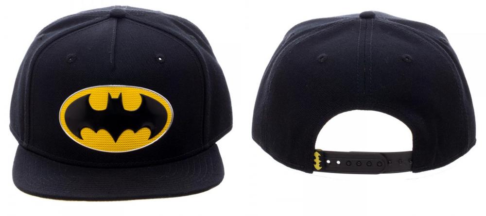 Batman Chrome Weld Snapback
