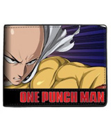 One Punch Man Character Bi-Fold Wallet