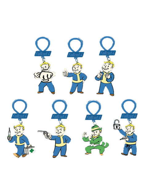 Fallout 4 Figure Backpack Hangers Blind Mystery Bag
