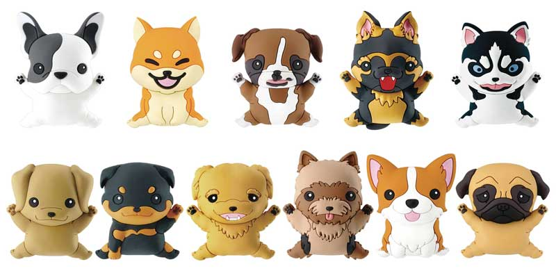 Puppies Series 1 BMB all keyrings