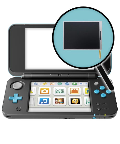 Nintendo New 2DS XL Repairs: Bottom LCD Screen Replacement Service