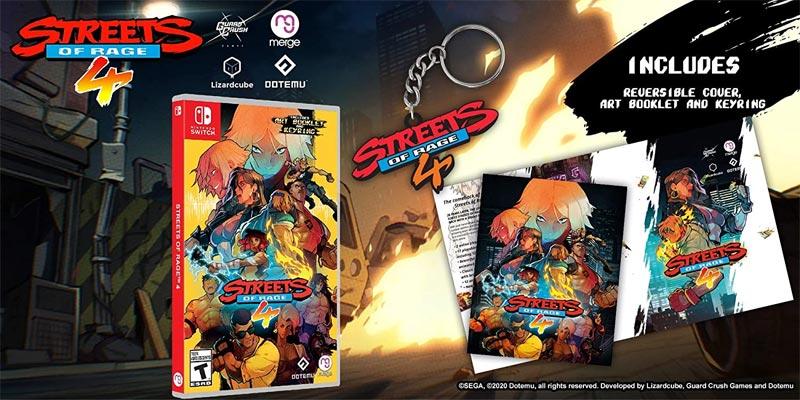 Nintendo Switch Streets of Rage 4 bonus items