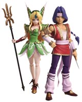Trials of Mana Hawkeye & Riesz Bring Arts Action Figure Set