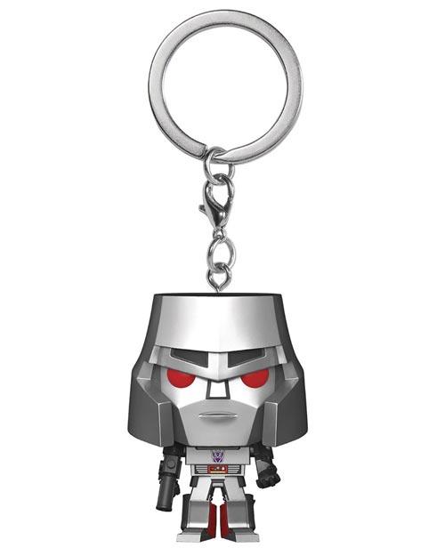 Pocket Pop Transformers Megatron Keychain