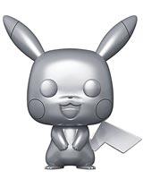 Pop Games Pokemon Pikachu Metallic Silver Vinyl Figure