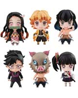 Demon Slayer Kimetsu Tanjiro & Friends Mascot Set