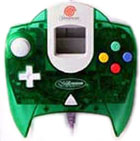 Dreamcast Controller Clear Green by Sega