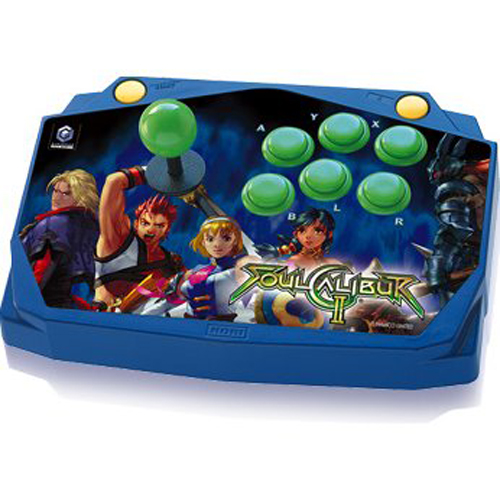 GameCube Soul Calibur II Arcade Stick