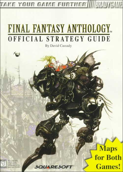 Final Fantasy Anthology Official Strategy Guide