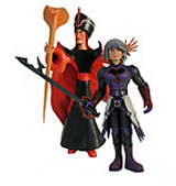 Kingdom Hearts: Series 2 Heartless Riku and Jafar Action Figures