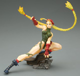 Capcom Girls Collection: Fighting Cammy Green Figure
