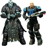 Gears of War Ramm vs Kim 2-Pack Action Figure