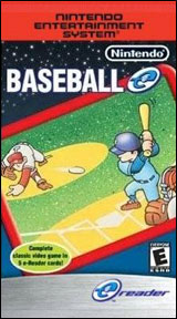 Baseball e-Reader Cards