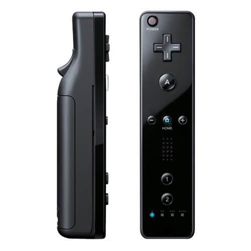 Nintendo Wii Black Remote by Nintendo