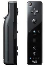 Nintendo Wii Black Remote by Nintendo