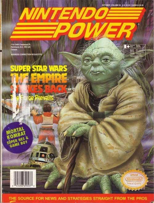 Nintendo Power Volume 53 Super Star Wars Empire Strikes Back