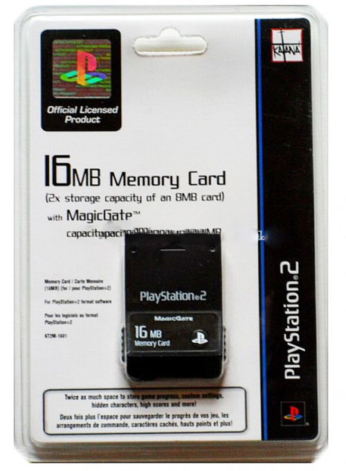 PlayStation 2 16MB Memory Card with MagicGate