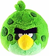 Angry Birds Space 8 Inch Green Monster Bird Plush